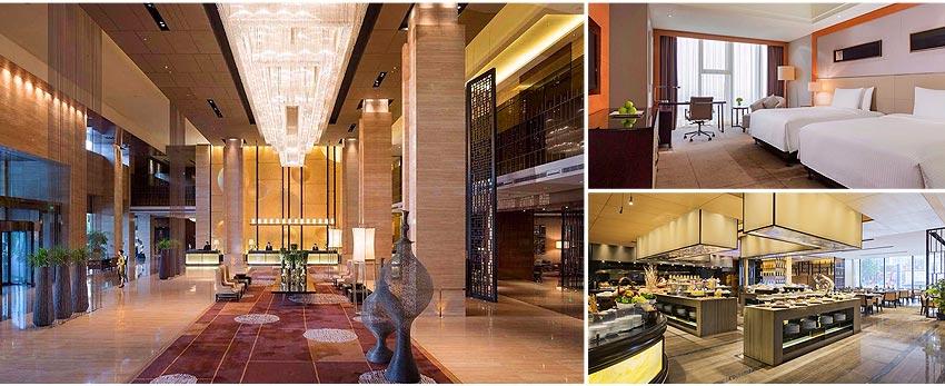 北京 國際五★萬達嘉華酒店