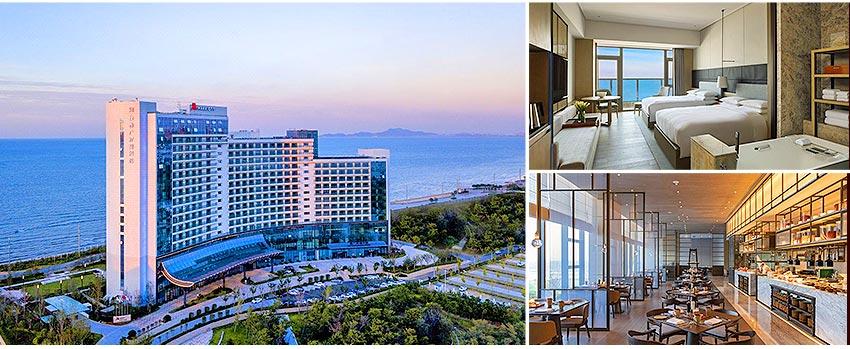 國際5星 煙臺鑫廣萬豪大酒店