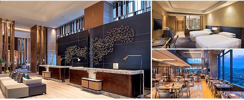 國際5星 濟南魯能希爾頓酒店