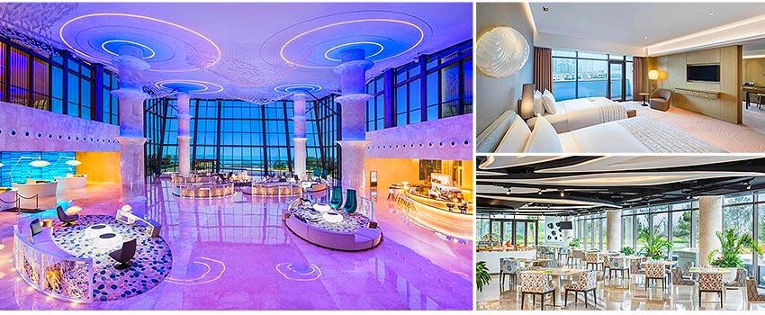 國際5星青島西海岸隆和艾美酒店(海景房)