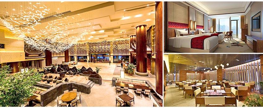 張家界景區:五★納百利皇冠假日酒店