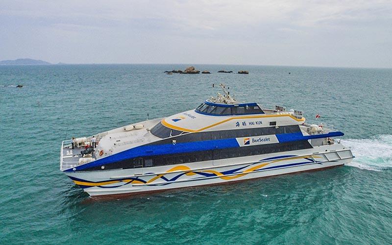 海南島 海上巴士