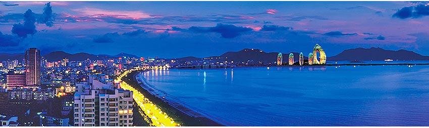 夜遊三亞灣