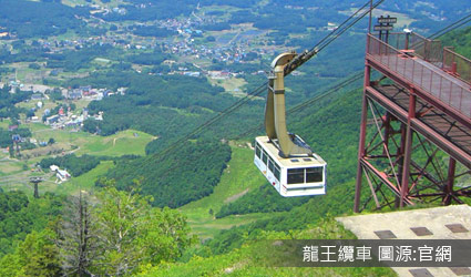 長野最美的天空.龍王纜車