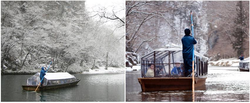 猊鼻溪遊船(雪見舟)