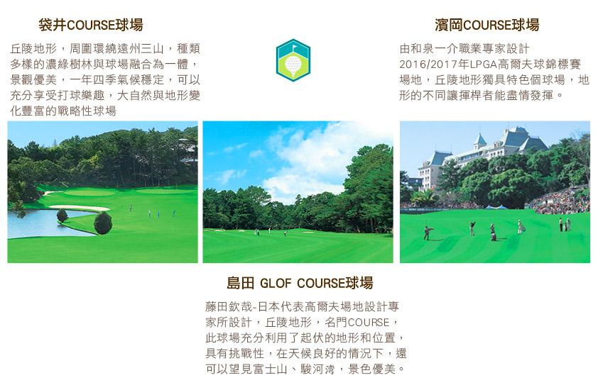 TOWER球場+RIVER球場+IZUMIKAWA球場