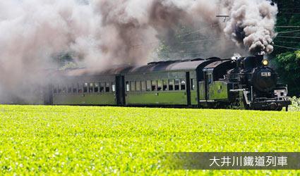 大井川鐵道列車