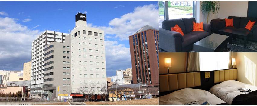 水戶APA飯店 APA Hotel Mito-Ekimae