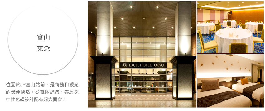 富山卓越東急大酒店 Toyama Excel Hotel Tokyu