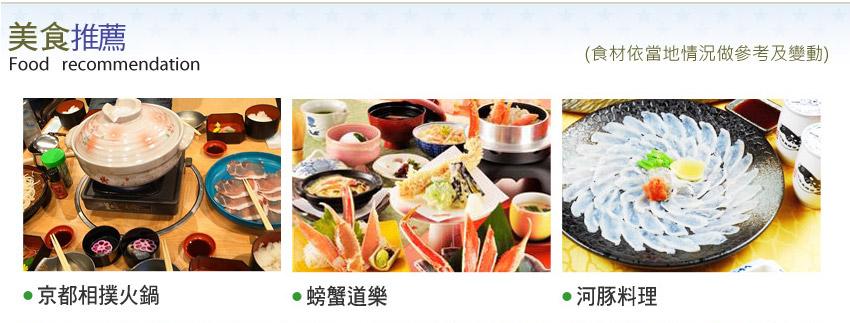 京都相撲火鍋.螃蟹道樂.河豚料理