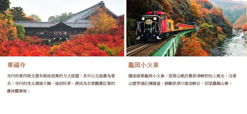 東福寺.龜岡小火車