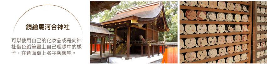 鏡繪馬河合神社