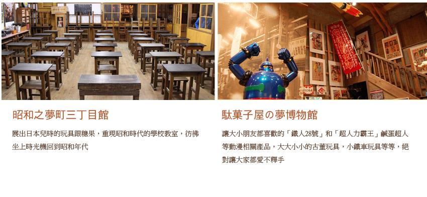 昭和之夢町三町目館.馱菓子屋之夢博物館.馱菓子屋之夢博物館