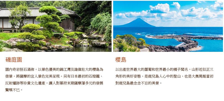 磯庭園.櫻島