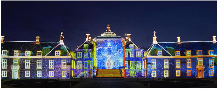 宮殿3D光雕投影