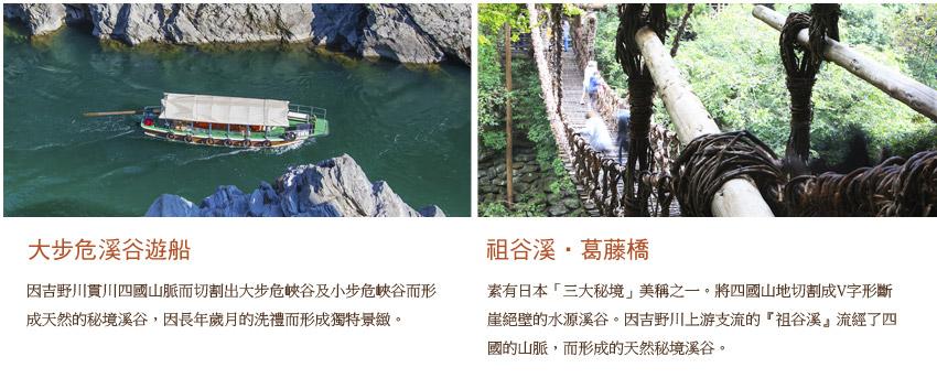 大布危溪谷遊船.祖谷溪