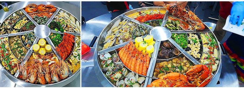 蒸籠宴-15道海鮮料理