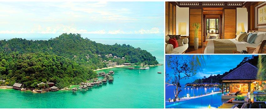 五星級綠中海渡假村 Pangkor Laut Resort/房型Garden