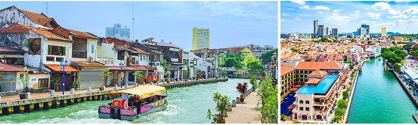 馬六甲運河遊船