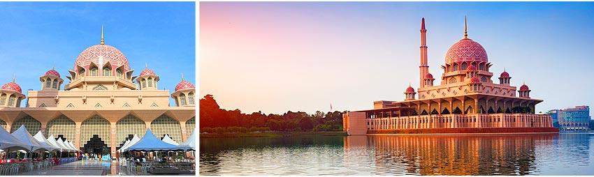 水上粉紅清真寺