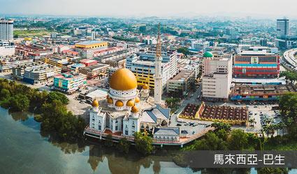 馬來西亞_巴生市景