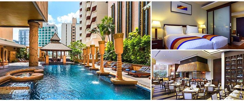 5星級 曼谷素坤逸大酒店 Grand Sukhumvit Hotel Bangkok(一房一廳)