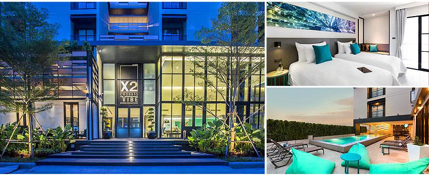 4星級  曼谷素坤逸X2飯店 X2 Vibe Bangkok Sukhumvit