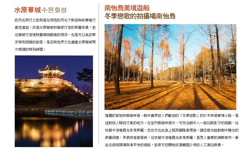 水原華城+南怡島