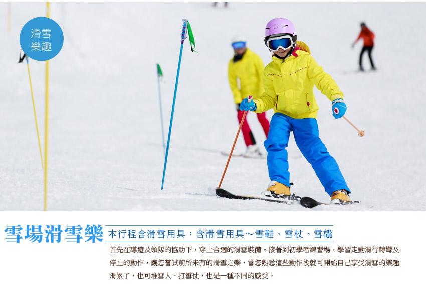 雪場滑雪樂