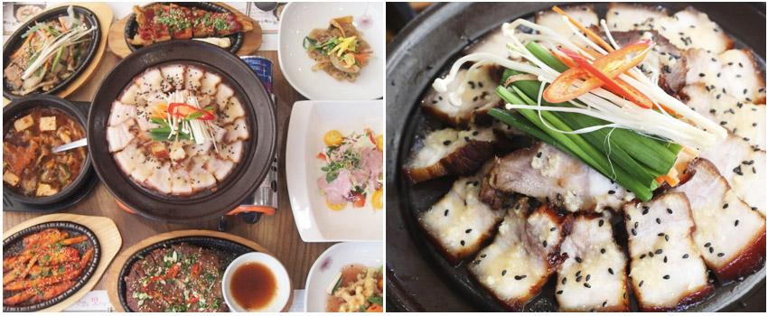 漢方豬肉山菜定食
