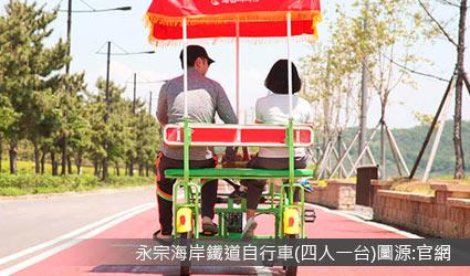 永宗海岸鐵道自行車