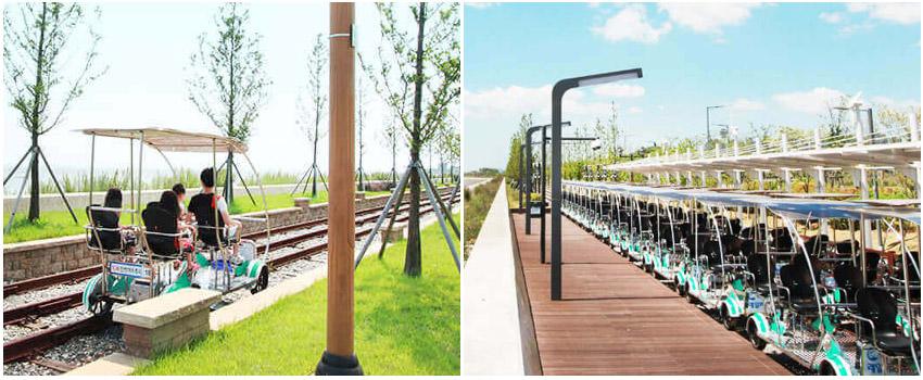永宗島鐵路自行車
