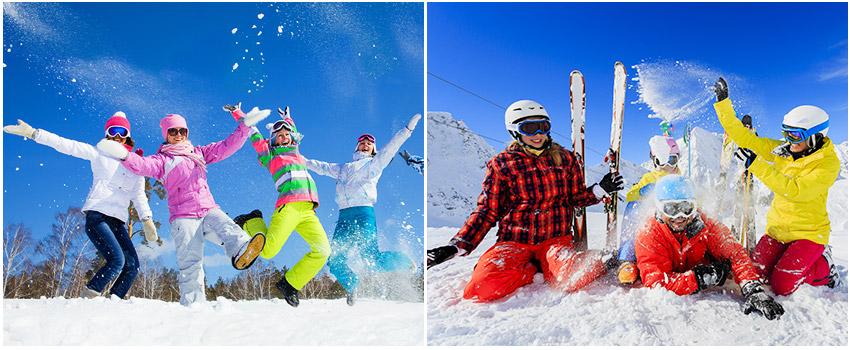 超人氣滑雪場體驗滑雪