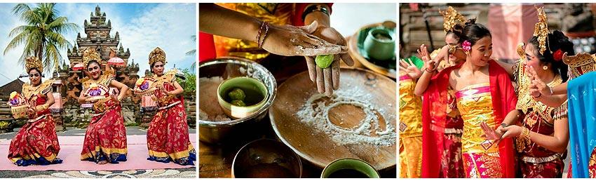 塔普瑞古皇宮+迎賓舞+穿傳統服學做峇里式甜點