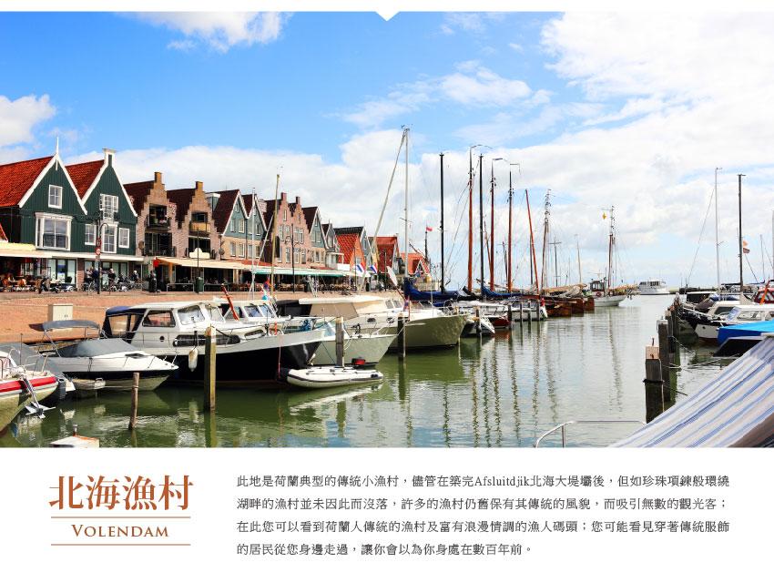 北海漁村Volendam