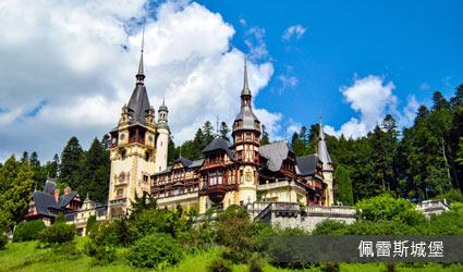 羅馬尼亞_錫納亞_佩雷斯城堡