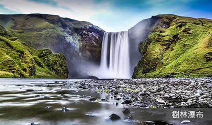 冰島_景點_樹林瀑布