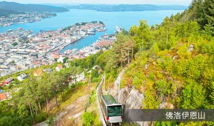 挪威_景點_佛洛伊恩山