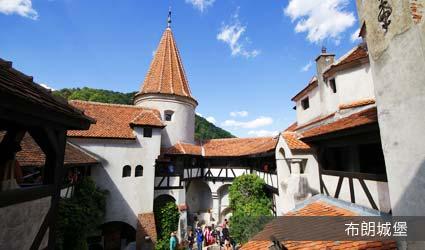 羅馬尼亞_景點_布朗城堡