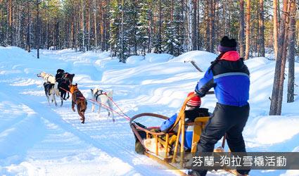 芬蘭_狗拉雪橇活動