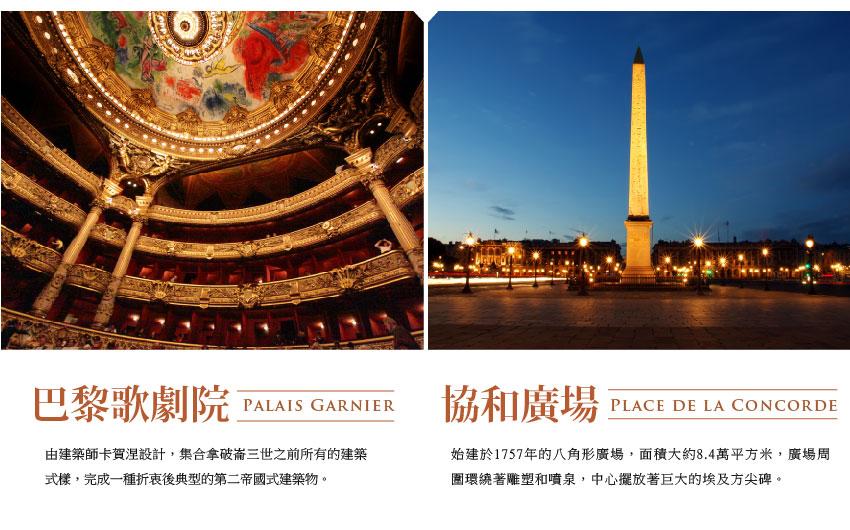 巴黎歌劇院、協和廣場