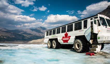 加拿大冰原雪車