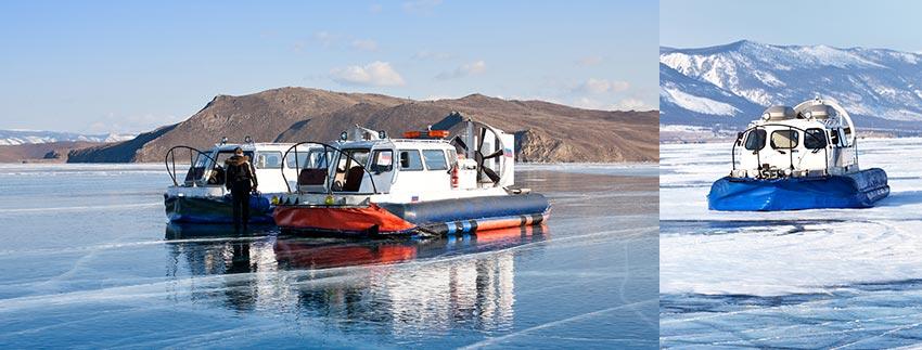氣墊船-奧利洪島