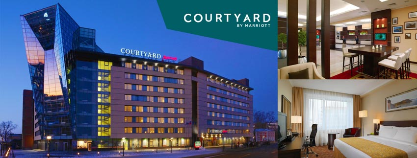 Courtyard by Marriott Irkutsk City Center  伊爾庫茨克市中心萬怡酒店