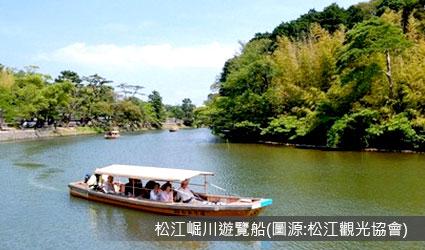 松江堀川傳統屋形遊覽船