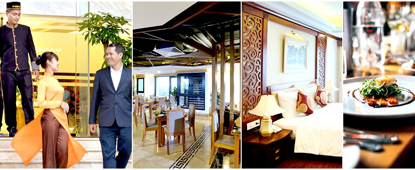 北越飯店綜合圖